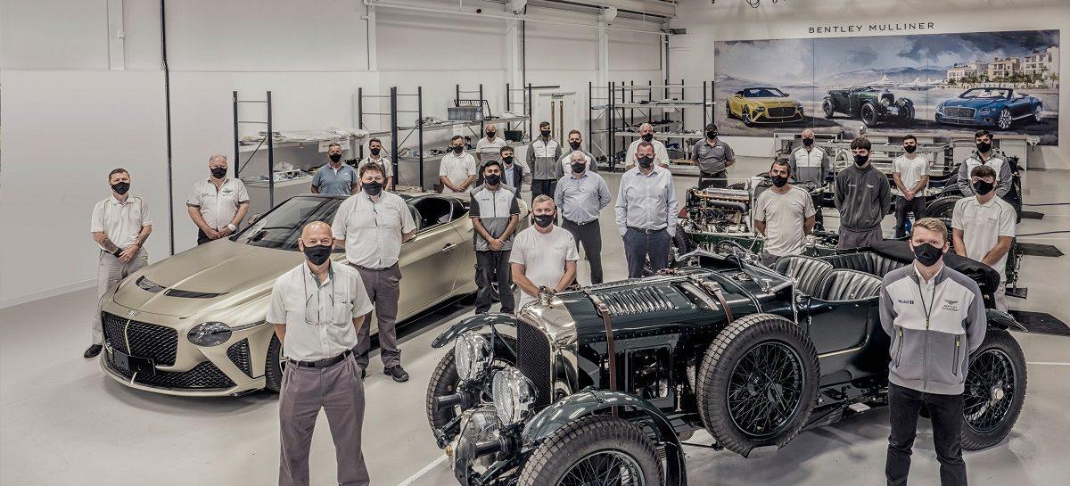 Bentley Mulliner представляет первые автомобили Bacalar и Blower, созданные вручную