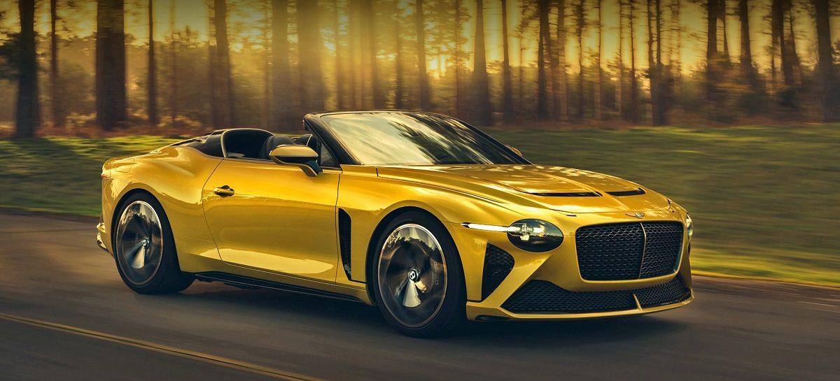 Bentley впервые представит новую модель на фестивале Monterey Car Week