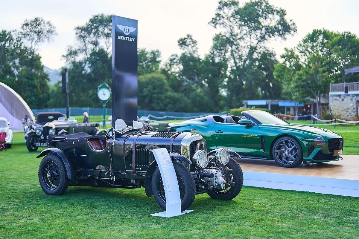 Bentley на фестивале Monterey Car Week 2021