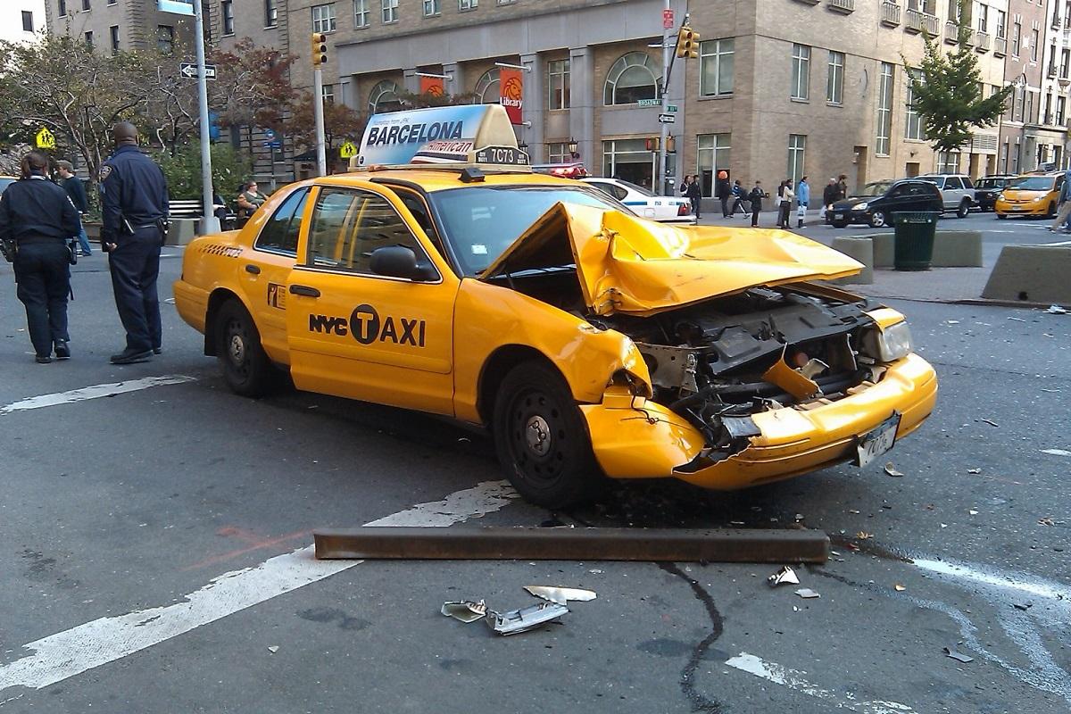 ДТП с участием такси