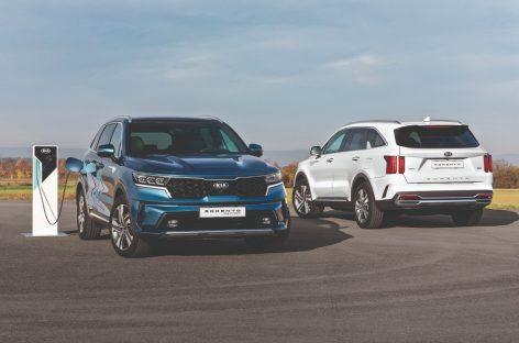 Kia Sorento Plug-in Hybrid выйдет на рынок США