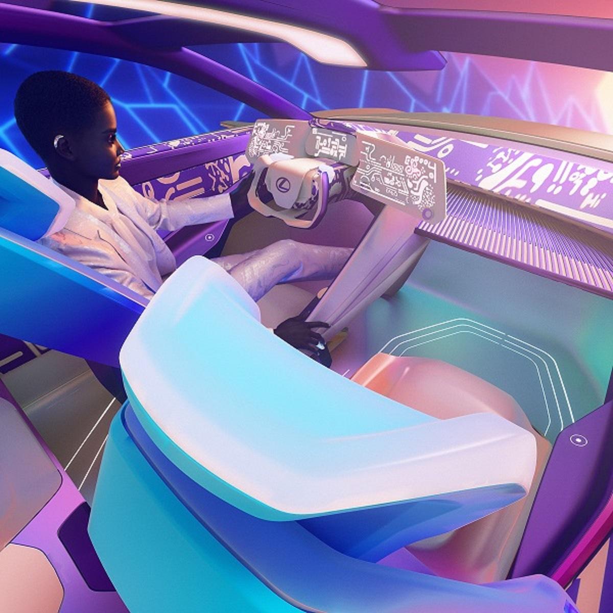 Lexus виртуальный интерьер