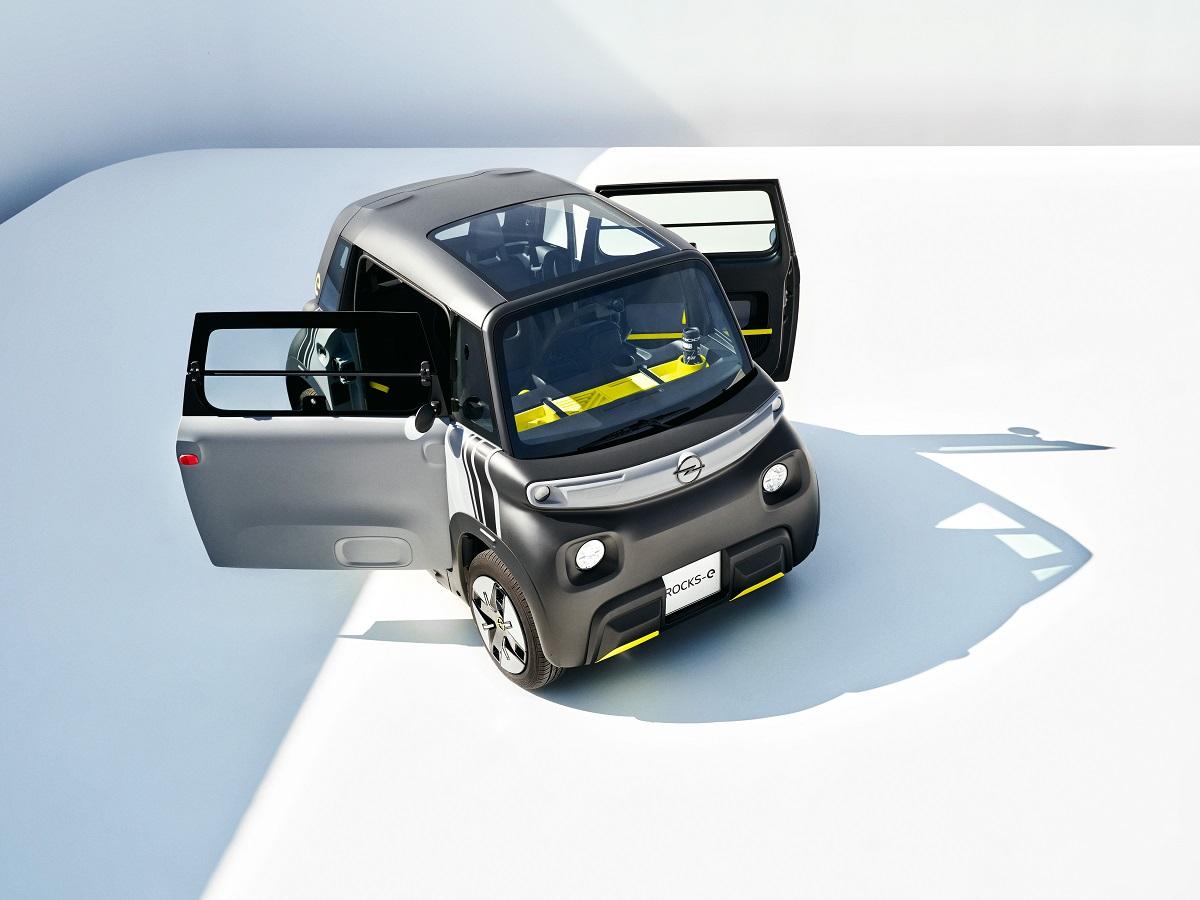 Новый Opel Rocks-e