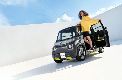 Премьера Opel Rocks-e: новый электромобиль для новой эры городской жизни