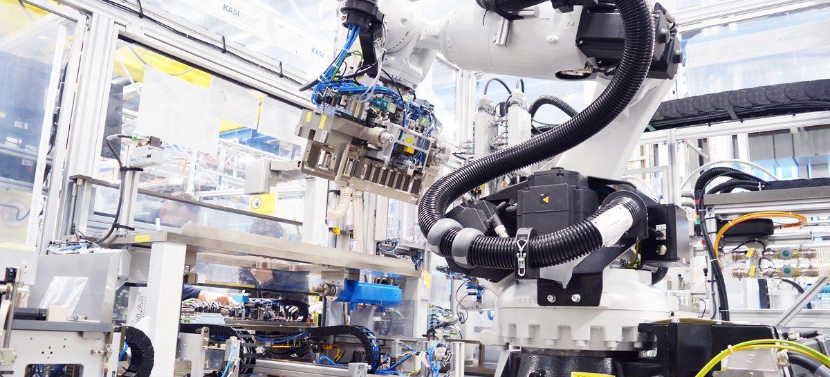 Bosch поставляет промышленное оборудование для производства аккумуляторных батарей