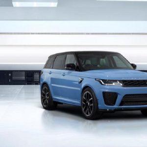Новая версия Range Rover Sport SVR Ultimate