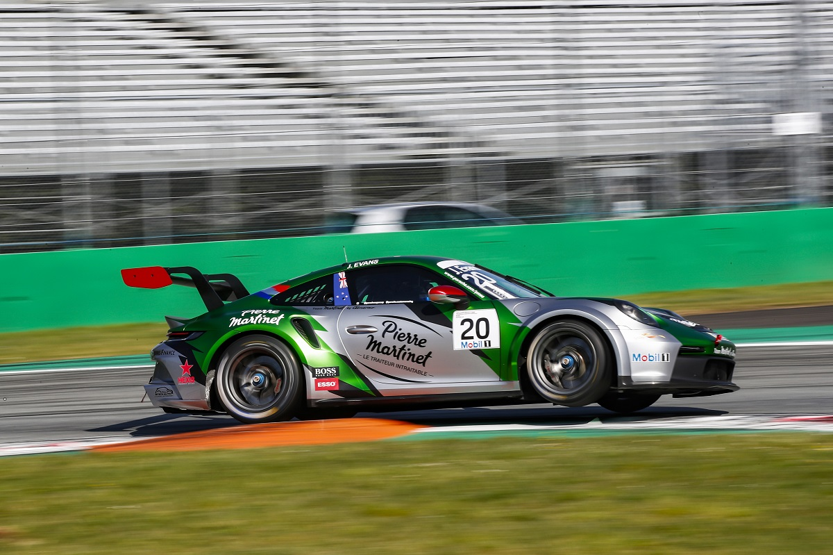 Porsche Mobil 1 Supercup, Test Monza 2021