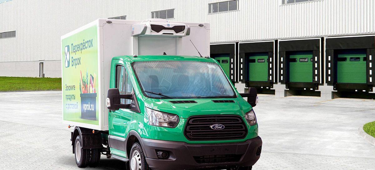 Соллерс Форд поставит более 200 Ford Transit онлайн-магазину Перекресток. Впрок