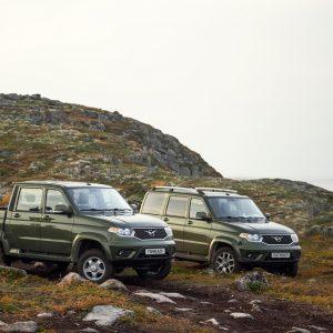 УАЗ анонсирует старт продаж битопливных версий моделей Патриот и Пикап на отечественном рынке