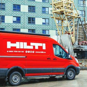 Hilti повышает мобильность: 100 новых Volkswagen Transporter переоборудуют для демонстрации строительного инструмента