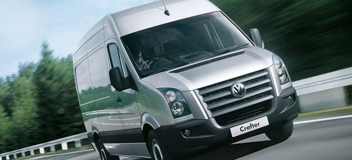 Volkswagen Crafter с двигателем мощностью 102 л.с. снова доступен для заказа
