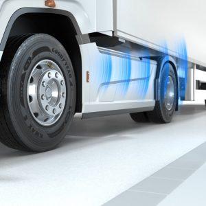 Goodyear запускает DrivePoint – экономически выгодную для перевозчиков систему контроля давления в шинах