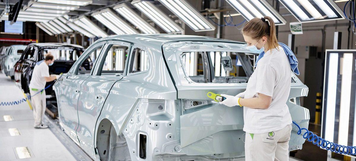 Škoda выпустила 100-тысячный экземпляр электрической модели iV