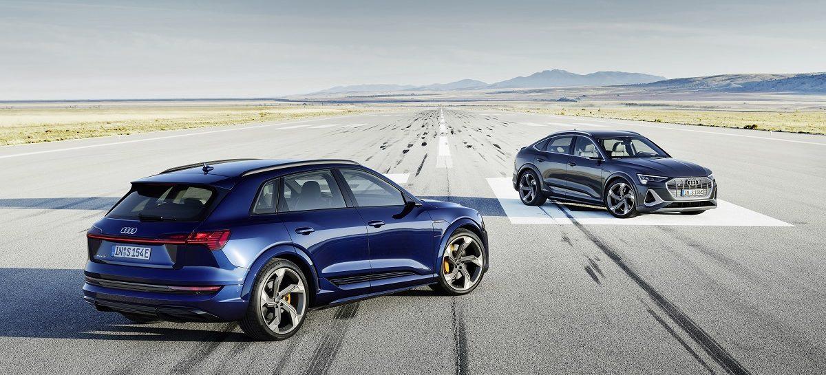 Эволюция S-эмоций, теперь на электрической тяге: абсолютно новые SUV Audi e-tron S и Audi e-tron S Sportback