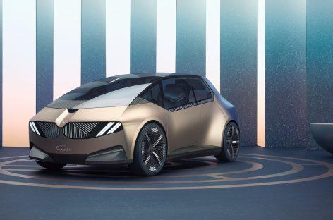 BMW i Vision Circular: компактный электромобиль 2040 года, ориентированный на экологичность и роскошь