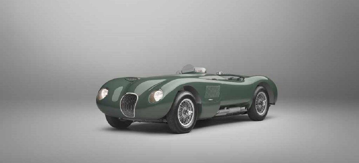 Jaguar выпустит ограниченную серию C-type ручной сборки в честь 70-летнего юбилея модели
