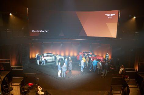 Genesis представил кроссовер GV70 и спорт-седан G70