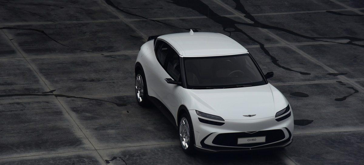 Раскрыты особенности дизайна Genesis GV60 – первого электромобиля марки