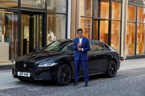 Увлекательная гонка по Лондону на Jaguar XF в честь премьеры фильма «Не время умирать»