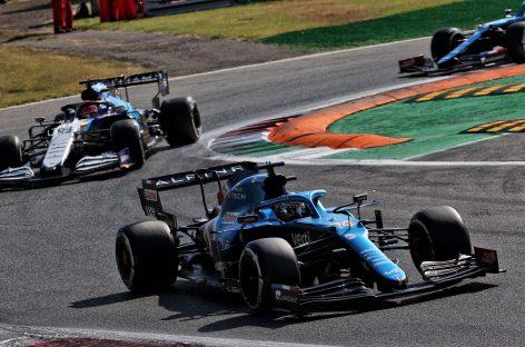 Alpine снова набрала очки, заняв два места в первой десятке Гран-при Италии