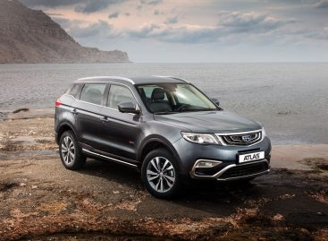 Кроссовер Geely Atlas стал самым продаваемым китайским автомобилем в России
