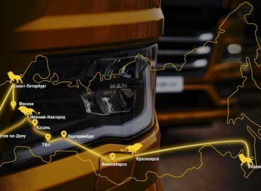 Свыше 152 тысяч пройденных километров и более пяти тысяч тест-драйвов: «МАН Трак энд Бас Рус» подвела итоги Road Show