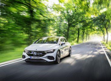 Mercedes-Benz EQE — новый авангард бизнес-класса