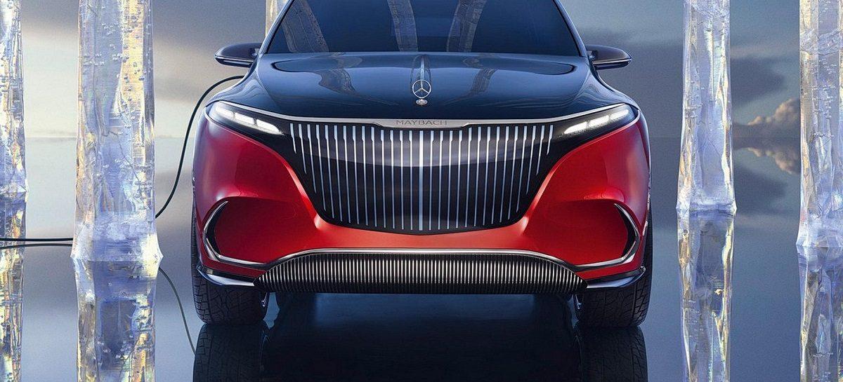 Концепт-кар Mercedes-Maybach EQS – премьера первой полностью электрической модели Maybach