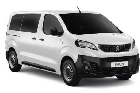 Peugeot представляет новую версию фургона Peugeot Expert – Бизнес-купе