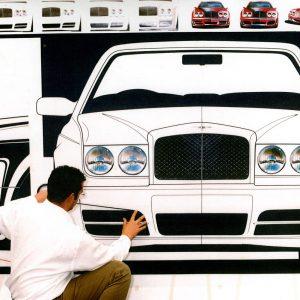 Подразделение дизайна Bentley в Крю отмечает 70-летний юбилей