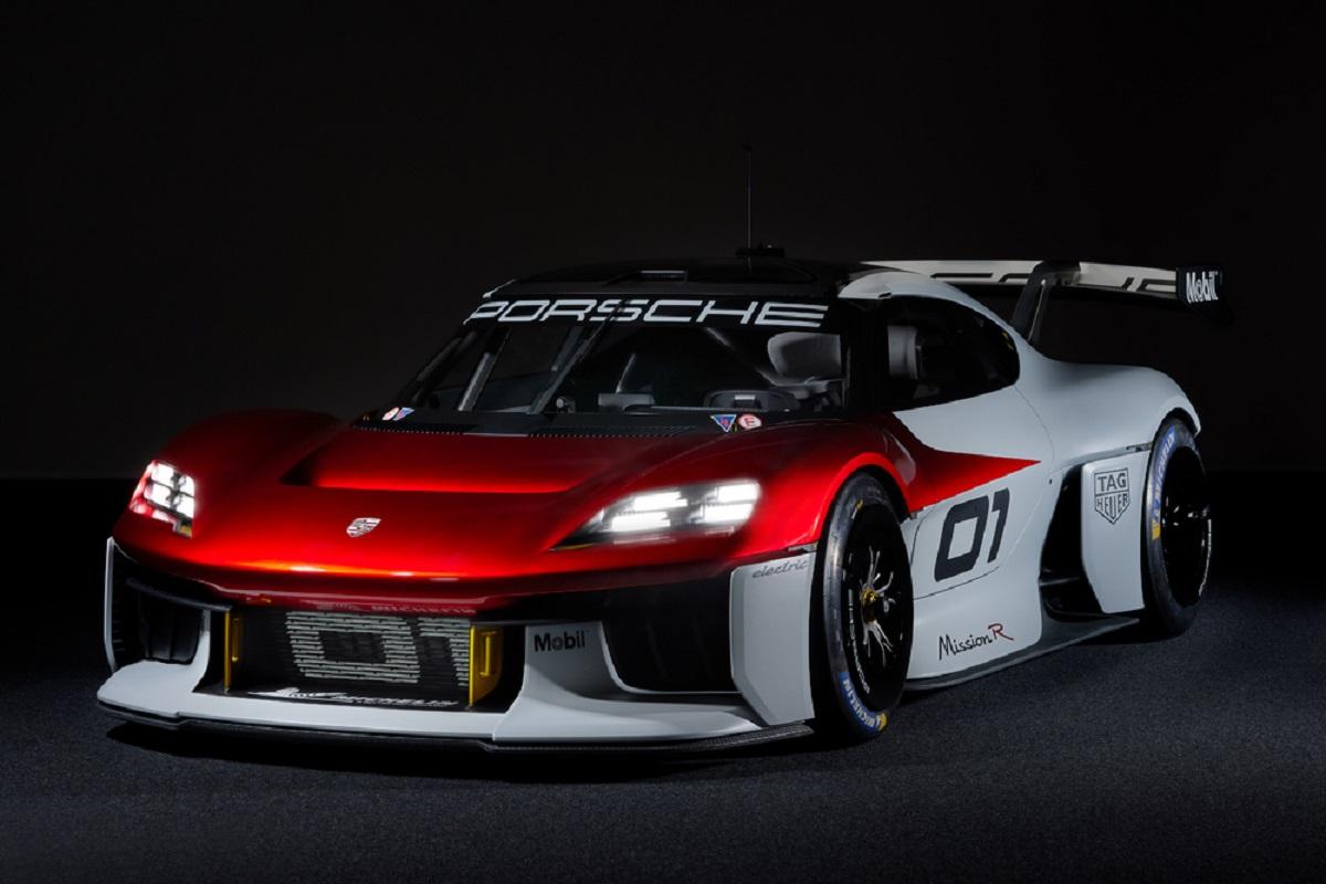 Porsche представляет концепт-кар Mission R(1)