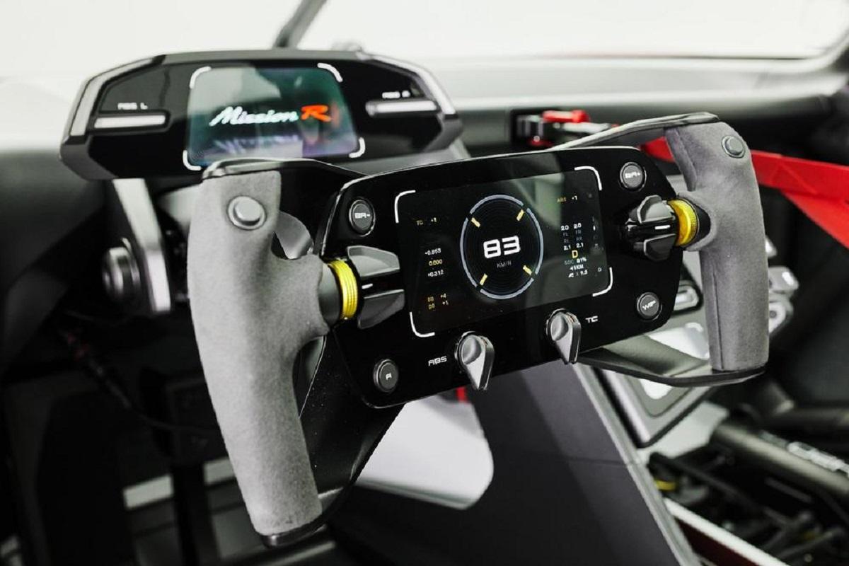 Porsche представляет концепт-кар Mission R(2)