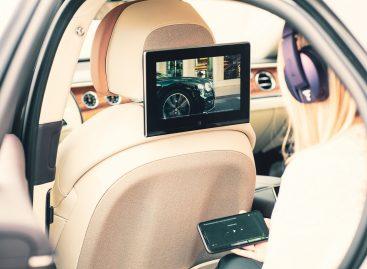 Новая развлекательная система Bentley для Flying Spur и Bentayga