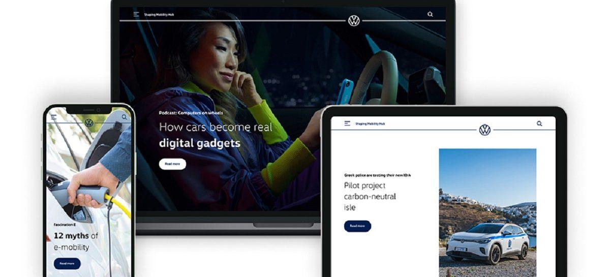 Volkswagen запускает новую информационную платформу
