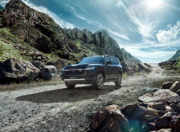 Toyota представляет специальную серию Land Cruiser 300 GR SPORT