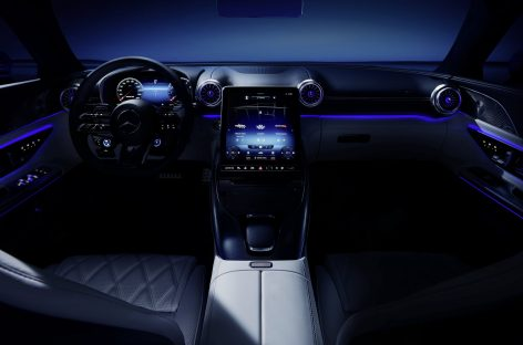 Мировая онлайн-премьера автомобиля Mercedes-AMG SL