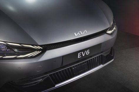 Kia планирует начать продажи электрического кроссовера EV6 в России в 2022-м году