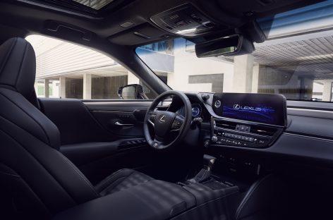 Lexus объявил старт продаж обновлённого бизнес-седана Lexus ES